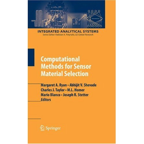 Computational Methods for Sensor Material Selection